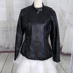 Andrew Michael Leather Jacket